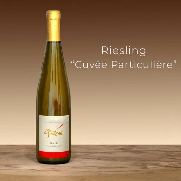 Vincent Goesel - Riesling Cuvée Particulière