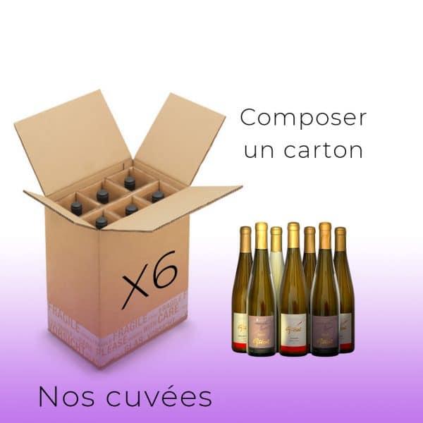carton x6-cuvees