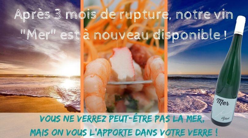 Cuvée «Mer» – Le grand retour !
