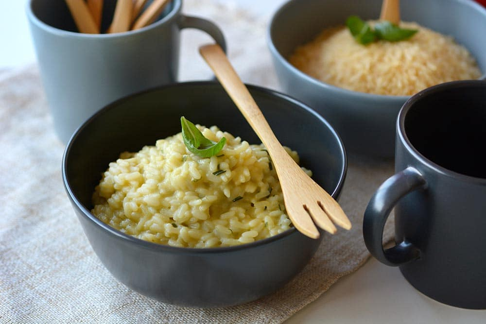 Risotto d'asperges blanches